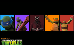 TMNT wallpaper version 2 by gameover89