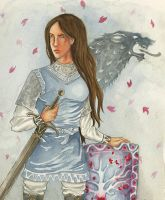 Lyanna Stark: The Knight of the Laughing Tree by SephyStabbity