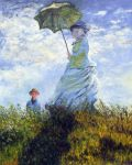 Monet's Woman with an Umbrella by Niuta71