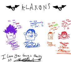 Klaxons spoof chibi thing by FoxxyTheAnarchist