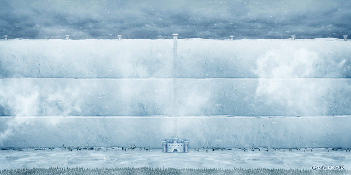 Game of throne The Wall ice version by jjfwh