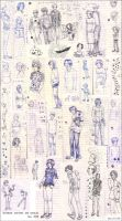 Chinese Notebook Doodles by dana-redde