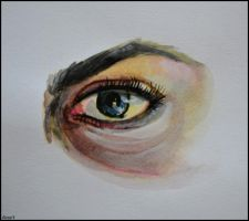 Painting- Eye by Ennete