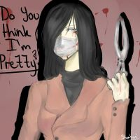 Kuchisake-Onna by shortsista