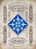 Silmarillion heraldry: Gil-galad by Aglargon
