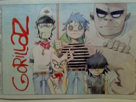 gorillaz by marina-the-hedgehog