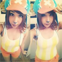 Fem! New World Chopper Cosplay by ChyTheNeko