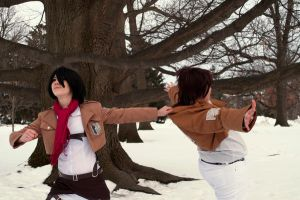 attack on titan no Eren by superjacqui
