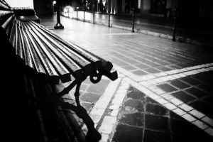 Lonely Bench by monkeys17