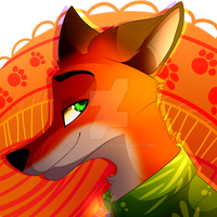 Huevember Nick Wilde by Kary-Draws