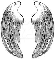 Wings - Make it Fly design by GisaPizzatto