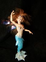 Mermaid fairy 'Wren' by AmandaKathryn