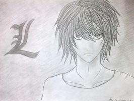 L - Death Note by RSTFrame1595