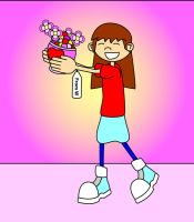 Happy Valentine Numbuh 34 by Redtriangle