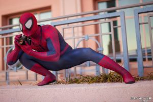 Spidey Rocks A Canon by PAPANOTZZI