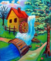 Watermill 2 by ninelkl