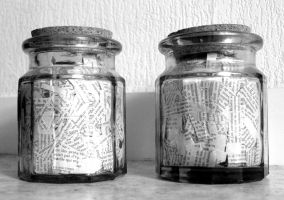 Jars of words by Sevaresien