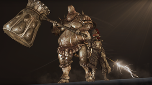 Ornstein and Smough by Narox22