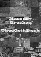 Masonry Brushes by TheoGothStock