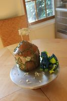 Dragon Fortress Cake 2 by Helegris-Nimbereth