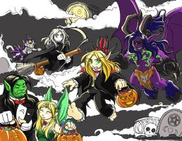 WoW: Happy Halloween 2007 by Kriska