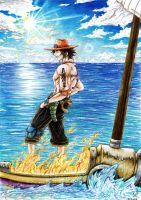 Forever Free - Portgas D. Ace by NitoryuSora