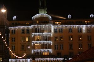 city life and lights dresden by alamic-marius
