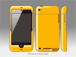 iPod Touch 4 Phone Jacket by littleworkshop