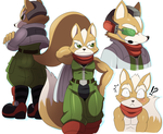 Fox doodles by ss2sonic