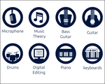 Music Icons by LordGiotto