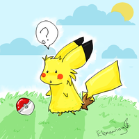 Pika by elenawing