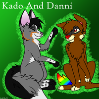 Kado and Danni copy by BrittishKitsune