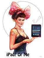 iPad or Me by zhuzhu