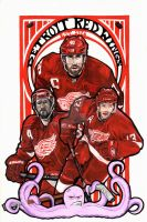 Detroit Red Wings Poster 2013 by StubbornCupcake