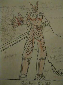 Knight-Very First Rough Idea by Many9919