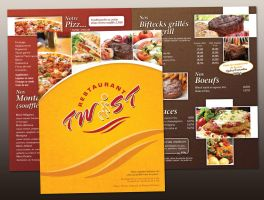 Restaurant Twist menu by neverdying