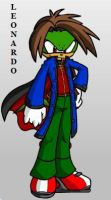 Leonardo the Echidna by ParkesietheHedgehog