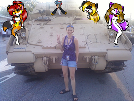 Me and the Tank... And my Sonas? by BlueWaterRose