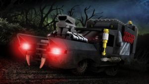 LEGO Monster Fighters - The Hearse by RobKing21
