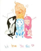we love you finn by Angelsketch-artist