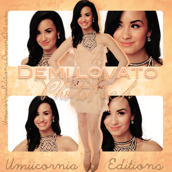 Photopack #01|Demi Lovato by UmiicorniaEditions
