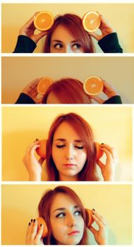 listen to the sound of the orange by HealMyWings