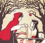 Snow White and Red Riding Hood by sqbr