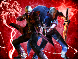 Devil May Cry 4 Wallpaper by Pedroaf