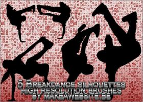 Breakdancers Brush pack01 by Rizl4