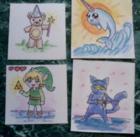 Little cards by UltraLiThematic