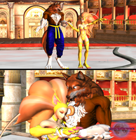 Capcom Does Disney - Beauty and The Beast. by MoonlightStrider