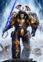 The Dragon Primarch by John-Stone-Art