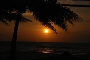 sunset in Anyer I by tsuzu-nee