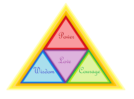 Triforce of Love... by LinkNZeldaForever
